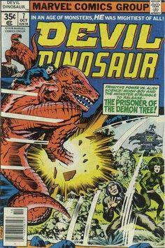Devil Dinosaur #7 Comic Books - Covers, Scans, Photos  in Devil Dinosaur Comic Books - Covers, Scans, Gallery