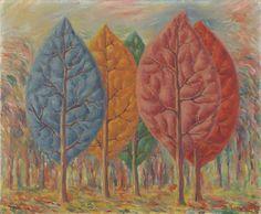 René Magritte : L'incendie 1943