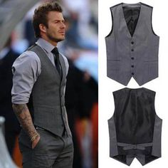 three-piece-suit-vest AND it looks mighty fine on David Beckham too!!!