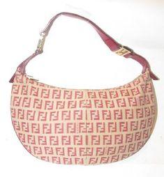 82f85574e70f Fendi Mint Condition Bold Gold Accents Print Tan Shoulder Hobo Bag Coach  Handbags
