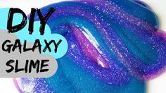 How to Make Glitter Galaxy Slime Recipe #3