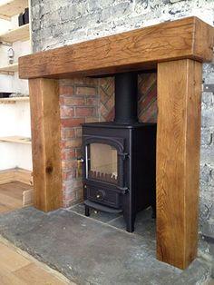 Oak Mantels and Fireplace Beams More