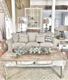 Marvelous 25 Awesome Shabby Chic Apartment Living Room Design And Decor Ideas h… &; Home Decoraiton Marvelous 25 Awesome Shabby Chic Apartment Living Room Design And Decor Ideas h… &; Home Decoraiton Emma Tyler emmatylers wohnzimmer […] Living Room Decor Country, French Country Living Room, Shabby Chic Living Room, Home Living Room, Apartment Living, Country Decor, Cozy Living, Farmhouse Living Rooms, Country Kitchen
