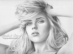 Scarlett Johansson 2 by Hong-Yu on deviantart.com