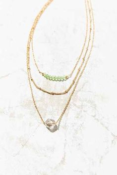 Femme Fatale Layer Necklace - Urban Outfitters
