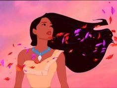 Pocahontas. Best hair ever.