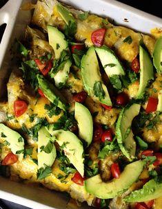 chorizo-breakfast-enchilada-casserole