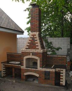 backyard design – Gardening Tips Brick Oven Outdoor, Outdoor Kitchen Plans, Outdoor Kitchen Design, Patio Design, Grill Gazebo, Patio Gazebo, Backyard Patio, Barbecue Design, Outdoor Barbeque