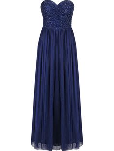 Forever New Navy Melissa Embellished Tulle Maxi Dress – Size 10 – Snow White and Seven Dresses Forever New, All Brands, Maid Of Honor, Evening Gowns, Snow White, Tulle, Size 10, Sparkle, Bridesmaid Dresses