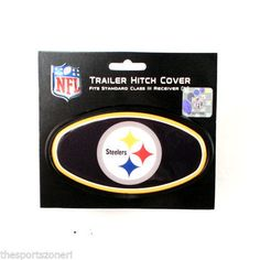 Pittsburgh SteelersTrailer Hitch Cover Series #3 #PittsburghSteelers Visit our website for more: www.thesportszoneri.com