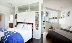 침실 인테리어 활용할 수 있는 파티션 디자인 가벽 만들기 아이디어 자료 침실은 잠을 자고 휴식을 취하는 ...