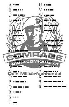 Morsealphabet / Morsecode Alphabet, Survival, Words, Poster, Tips, Alpha Bet, Billboard, Horse