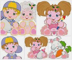 Bebês pezão - bordados