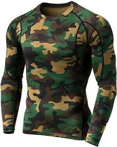 ec46af3162 Tesla Men s Long Sleeve T-Shirt Baselayer Cool Dry Compression Top MUD11    MUD01