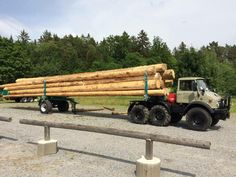 Unimog log hauler