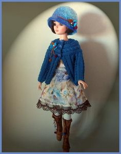 """Blue and only Blue,"" handmade by Inma"