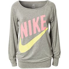 Comfy Nike Shirt. Want. I'd love to lounge in this! Or workout I guess(;
