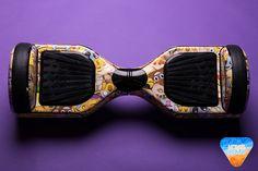 Emoji hoverboard custom stickers vinyl wraps decal