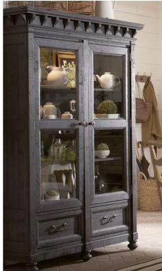 Alona Gracie oaks cabinet Refurbished Furniture, Home Decor Furniture, Vintage Furniture, Home Furnishings, China Cabinet Decor, Dining Room Hutch, Model Homes, Repurposed, Dreams