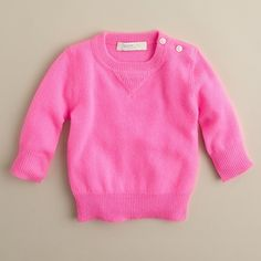Collection Cashmere Baby Sweater ($125) via Polyvore