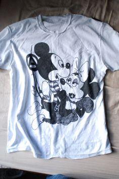 seditionaries Mickey Mouse tee shirt
