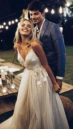 Western Wedding Dresses, Wedding Dress With Veil, Backless Wedding, Princess Wedding Dresses, Cheap Wedding Dresses Online, Best Wedding Dresses, Bridal Dresses, Wedding Gowns, Lace Wedding