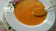 Nefis Patates Çorbası – Nefis Yemek Tarifleri Cheeseburger Chowder, Thai Red Curry, Cantaloupe, Salsa, Soup, Fruit, Ethnic Recipes, Potato Soup, Salsa Music