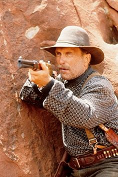 Robert Duvall as old scout Al Siebert in Geronimo: An American Legend