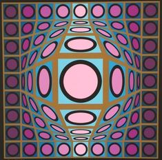 Untitled by Victor Vasarely at Gregg Shienbaum Fine Art - Printed Editions - Ref 56544 Victor Vasarely, Selling Art Online, Online Art, Print Artist, Artist Art, Charlie Chaplin, Salvador Dali, Pin Up Art, Prints For Sale