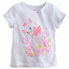 Disney Marie Tee for Baby - The Aristocats | Disney StoreMarie Tee for Baby - The Aristocats - Your cuddly little ''kitten'' will be as adorable as a true Aristocat in this soft tee for baby with flirty Marie graphic.