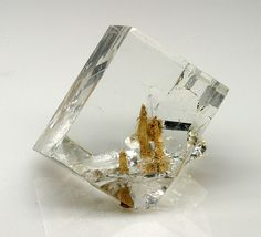 Fluorite with Aragonite inclusions from Hillman Hall of Minerals & Gems