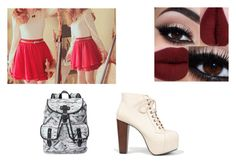 """""""Untitled #182"""" by weirdobutfun on Polyvore featuring Candie's and Speed Limit 98"""