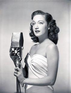 1940s Radio Singers | Les Icônes du 7ème Art: Stars à la radio...(Série 01).