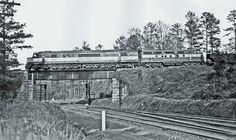 """Seaboard Railroad Baldwin """"Centipede"""" Diesel Locomotive."""