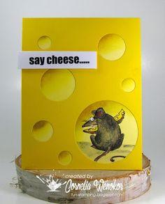 Stempel Spass: Say Cheese....