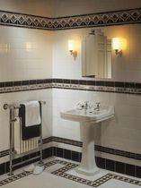 Ceramic wall tile: Art deco pattern