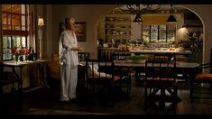 movie set kitchen