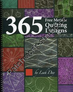 365 Free Motion Quilting Designs | Patchwork-studio