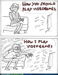 If somebody actually plays like the top person then your not a gamer.