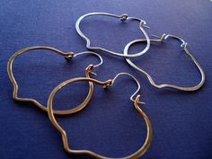 Take 25% off with code - Moroccan Inspired Exotic Hoops - Sterling Silver or 14kt Gold Filled. $29.00, via Etsy.