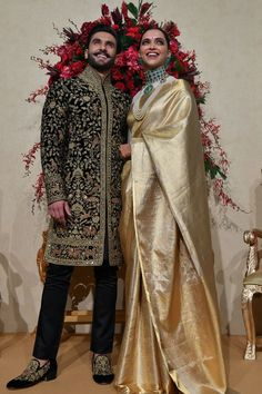 The Bollywood power couple kept the party going with their Bengaluru wedding ceremony and a wealth of stunning outfits.
