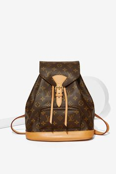 Vintage Louis Vuitton Monogram Montsouris MM Backpack | Shop Vintage at Nasty Gal!