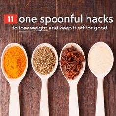 Use these one spoonful hacks to lose weight and keep it off for good…