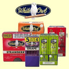 White Owl cigars are manufactured in Dothan, Alabama and are a classic brand that date back all the way from 1887. Created with a sheet-type wrapper and binder that encases mixed filler tobacco blend that derive from a total of five nations, this cigar is mild in flavor and great for any occasion. #machinemadecigars #machinemade #whiteowl #whiteowlcigarillos