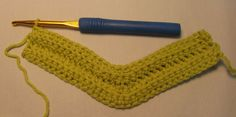Hooked on Needles: Mitered Squares Baby Blanket -- Crocheted