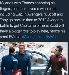 Avengers 4 theory-> AND THEN THEY BRING EVERYONE BACK AND ITS HAPPILY EVER AFTER UNTIL THE NEXT MOVIE