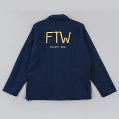 fdaef37058246 Fuct SSDD F.T.W Windbreaker - Blue