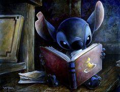 Stitch reading:)