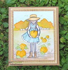This adorable collector's stamp kit is from Illustrator Phyllis Harris and Unity Stamp Co