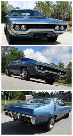 Feast your eyes on this RARE Plymouth Road Runner. Click to own this legendary car #MusclecarMonday